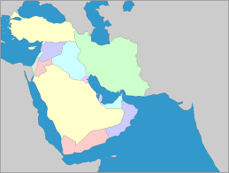 middle east map gulf of oman interactive map of middle east