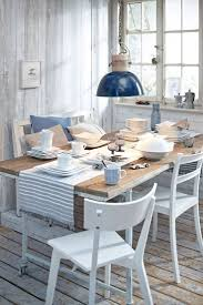 coastal dining room table dining room coastal dining rooms cool round table with beach style