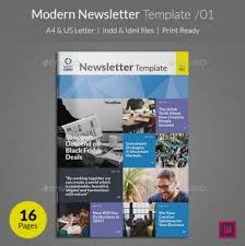 90 best printable newsletter templates indesign indd u0026 pdf