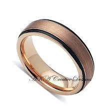 black gold mens wedding band black gold mens wedding ring slidescan