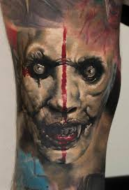 horror tattoos and designs