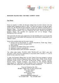 2016 bangsar village kids for kids scholarship backgrounder