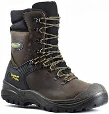 s steel cap boots nz hercules steel midsole and toe lace up high leg safety boot brown