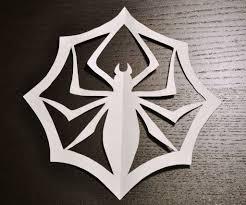 jack skellington u0027s paper spider snowflake easy patterns jack