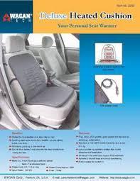 wagan deluxe heated seat cushion walmart com