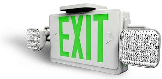battery powered emergency lights led exit signs battery powered exit signs the exit store