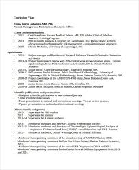 doctor curriculum vitae 8 free samples examples format