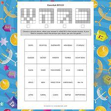 hanukkah bingo free hanukkah bingo play q and a