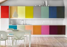 multi color kitchen cabinets multi color kitchen