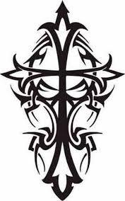 best 25 tribal cross tattoos ideas on pinterest cross tattoo