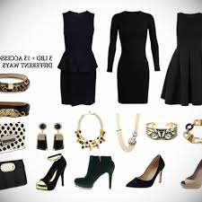black dress with pink accessories gossip style