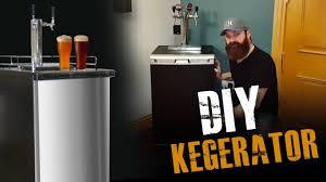 Kegregator Diy Kegerator E7 Youtube