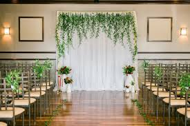 wedding backdrop greenery italian wedding inspiration with pops of ruffled