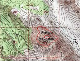 Alaska Topo Maps by Avo Image 19651 Redoubt