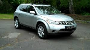 nissan murano old model nissan murano 3 5 v6 automatic 2008 08 silver with black leather