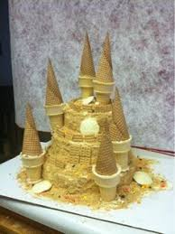 party accessories mermaid castle birthday cake castle
