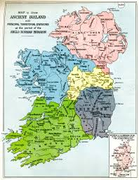 Ou Map Map Of Ireland At The Time Of The Anglo Norman Invasion