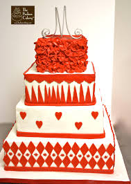 red u0026 white wedding cake weddings the hudson cakery