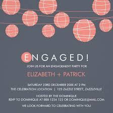 Engagement Party Invites Paper Lanterns Engagement Party Invitation