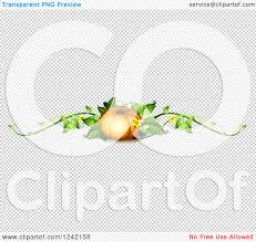 pumpkin no background clipart of a pumpkin and crolling vine border royalty free