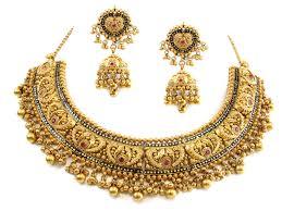 antique necklace set images 147 20g 22kt gold antique necklace set houston texas usa jpg