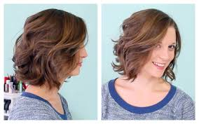 short loose wave hairstyle loose curl short hairstyles fade haircut