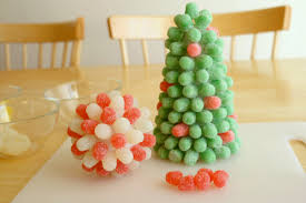 decorate with festive gumdrop trees make and takes