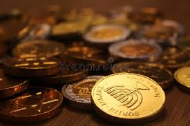 hanukkah chocolate coins hanukkah chocolate coins with menorah symbol on back for judaism