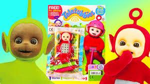 teletubbies po magazine toy review toys for kids sponsored