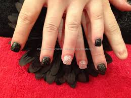 40 stylish black acrylic nail art designs 40 stylish black