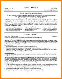 10 operation manager resume examples address example