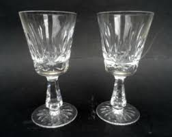 Vintage Waterford Cut Glass Crystal Vase Starburst Pattern Irish Crystal Etsy