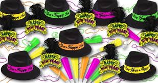 new year party supplies brilliant neon new years assortment for 50 new years