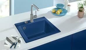 Blue Kitchen Sinks Blue Kitchen Sink And Kitchen Sink Subway Midnight Blue