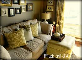 Living Room Decorating Ideas Split Level My Ugly Split Level The Living Room