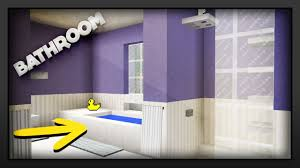 how to design a bathroom minecraft how to make a bathroom youtube
