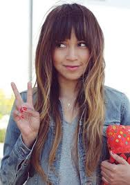 gorgeous hair i love the pretty brown color with 25 best ombre with bangs images on pinterest hairdos gorgeous
