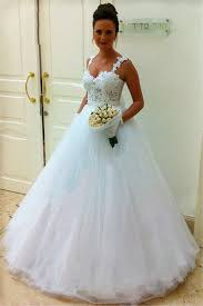 lace top wedding dress straps lace top tulle wedding dress 2018 gown