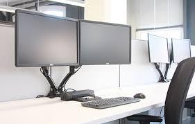 Computer Monitor Mounts Desk Loctek Sit Stand Desk Risers Height Adjustable Desks Monitor Arms