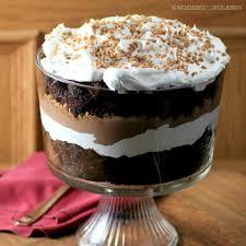 easy chocolate caramel trifle