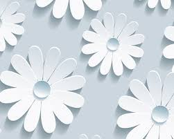 template white flower template