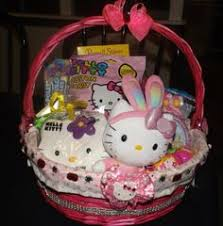 hello easter basket make a sweet easter basket with a plush hello basket filled