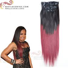 ombre extensions ombre hair hair 8pcs clip in hair