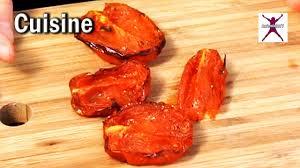 comment cuisiner les tomates s h s comment faire des tomates confites