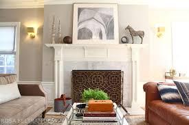 rosa beltran design colonial house tour finale the living room