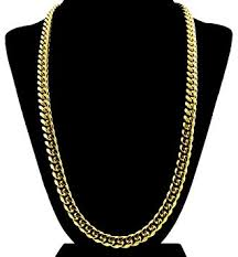 necklace gift case images Gold cuban link chain necklace for men real solid 18k jpg