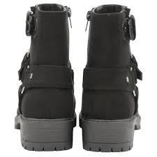 biker style boots buy dolcis ladies davis biker style ankle boots online in black