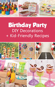Summer Party Decorations Diy Party Decorations Kid Friendly Recipes