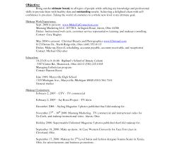 Beginner Makeup Artist Resume Commercial Artist Resume 3d Artist Resume Hirescoreco Resume