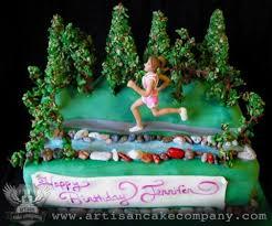 runners birthday cake artisan cake company